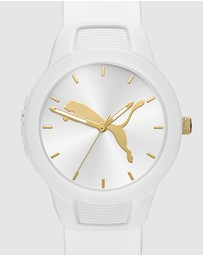 Puma - Reset V2 White Analogue Watch