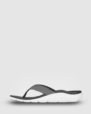 Ascent Groove Sport - All thongs (Black/White)