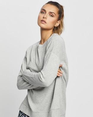 Sweaty Betty After Class Sweatshirt - Sweats (Light Grey)