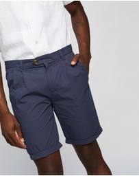 AERE - Poplin Pleat Shorts