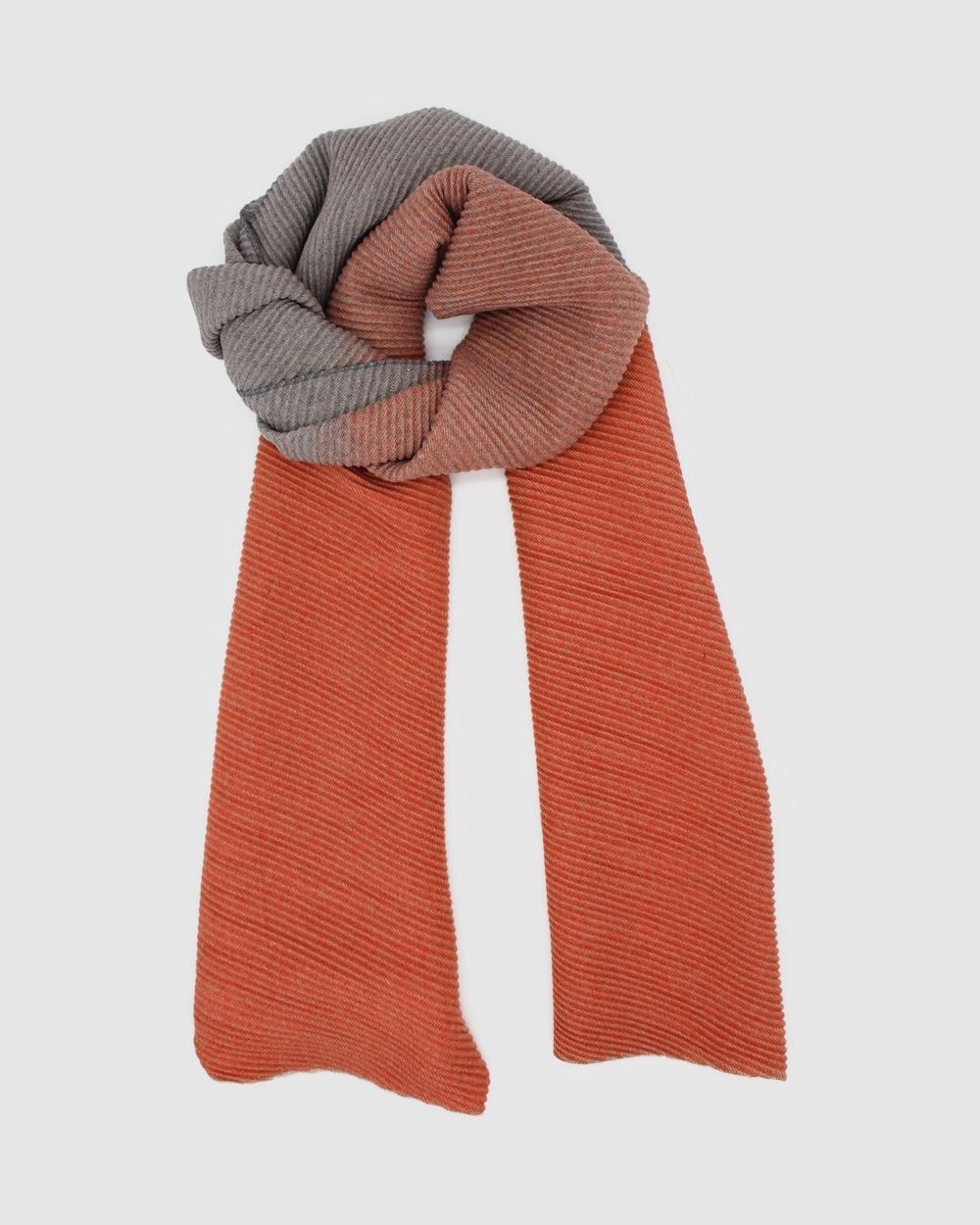 Morgan & Taylor Tina Scarf Scarves Gloves Orange