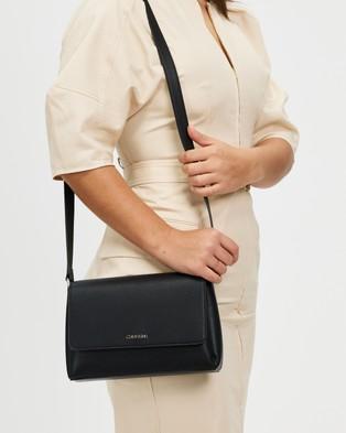 Calvin Klein - Crossbody Bag - Bags (Black) Crossbody Bag