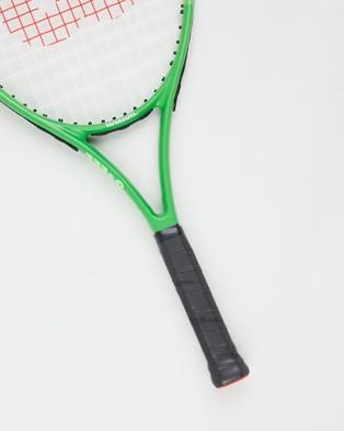 Wilson Blade Feel 25 Tennis Racket   Teens - Sports Equipment (Green)