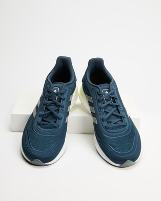 adidas Performance Supernova   Men's - Performance Shoes (Crew Navy, Silver Metallic & Hazy Blue)