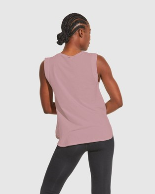 Dharma Bums Intuition Tank - T-Shirts & Singlets (Dusty Mauve)