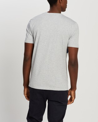 BOSS Tiburt T Shirt - T-Shirts & Singlets (Open Grey)