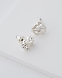 Wild For The Weekend - Dollar Sign Earring Studs