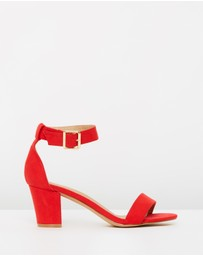SPURR - ICONIC EXCLUSIVE - Amelia Block Heels