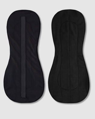 B Free Intimate Apparel Ultra Thin Maxi Reusable Leak Proof Pads   3 Pack - Beauty (Black)