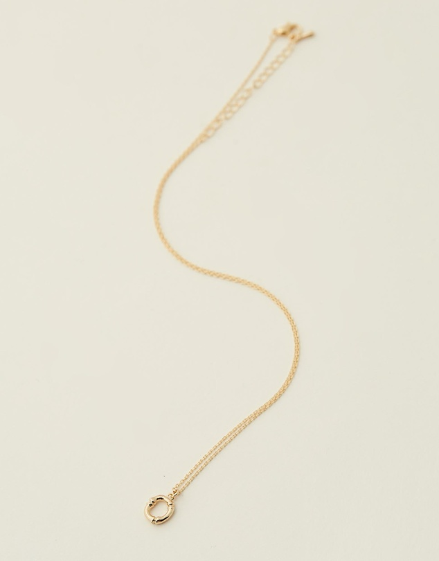 Women Letter O Necklace
