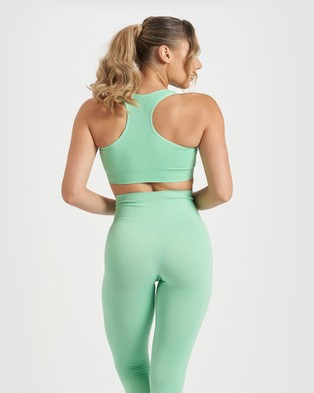 Core Trainer Maya Active Bra - Crop Tops (Mint)