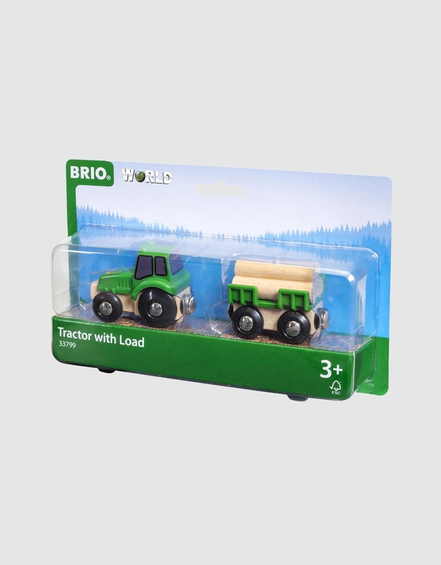 BRIO - Vehicle - Farm Tractor with Load