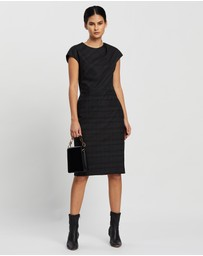 David Lawrence - Milena Wool Blend Dress