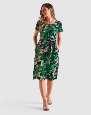Stella Panther Dress - Printed Dresses (Print)