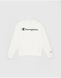 Champion - EU Script Crew Sweater - Teens