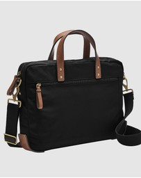 Fossil - Haskell Black Shoulder Bag