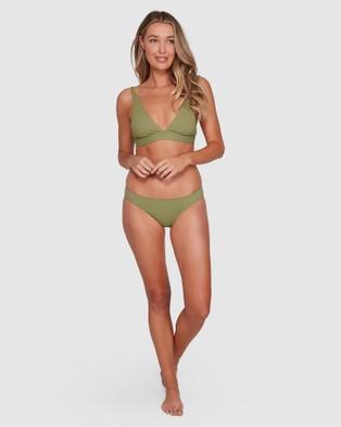 Billabong Sol Searcher Elongated Tri Bikini Top - Bikini Tops (BLACK)