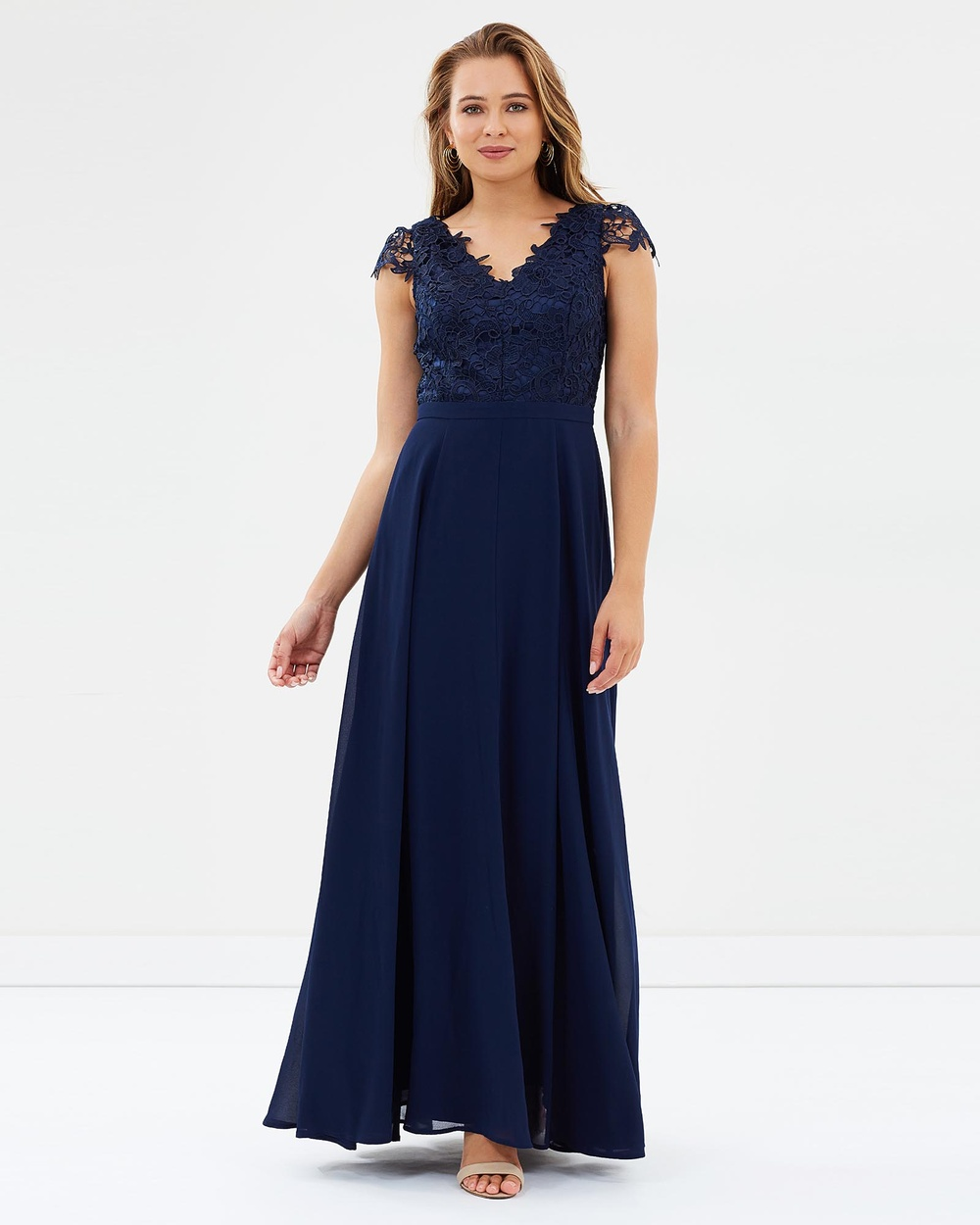 Review Endless Romance Maxi Dress Bridesmaid Dresses Navy Endless Romance Maxi Dress