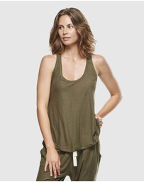 Cloth & Co. - Organic Cotton Slub Singlet