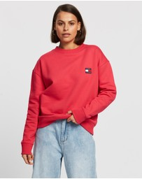 Tommy Jeans - Tommy Badge Crew Sweatshirt