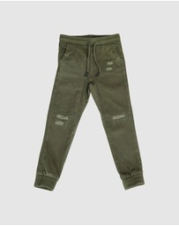 OOVY - Distressed Chinos