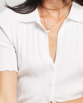 Lioness Silverlake Cardi Top - Clothing (White)