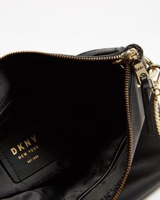 DKNY Gregorio Hobo - Handbags (Black & Gold)