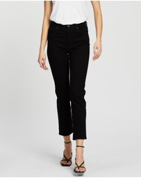 AG Adriano Goldschmied - Isabelle Straight Crop Jeans