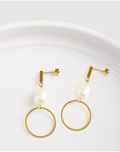 Pastiche Sorrento Earrings Gold Plated