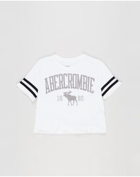 Abercrombie & Fitch - Shine Sporty Tee - Teens