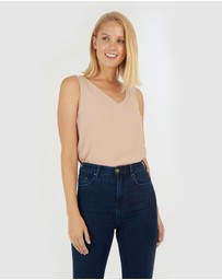 Forcast - Alanna Sleeveless Top