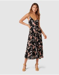 Band of Gypsies - Tahiti Floral Maxi Dress