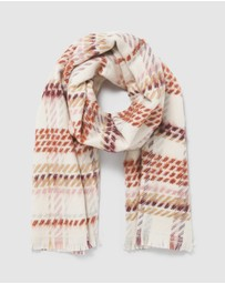 Forever New - Mabel Check Scarf