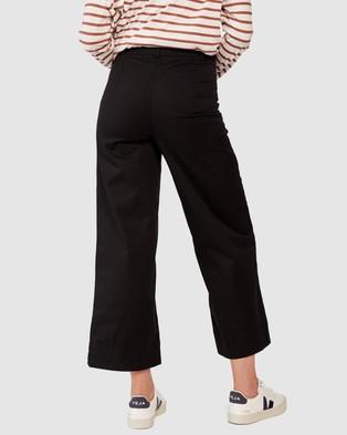 Ceres Life Wide Leg Pants - Pants (Black)