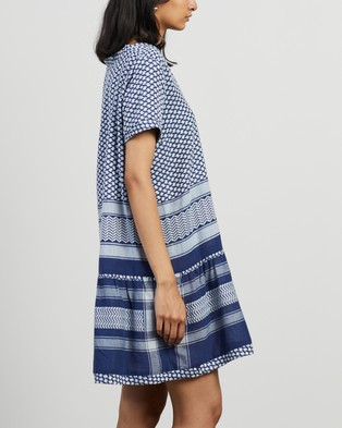 Cecilie Copenhagen - Dress 2 V SS Dresses (Twilight Blue)