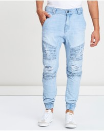 Nena & Pasadena - Hellcat Engineered Jogger Jeans