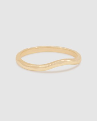 By Charlotte Harmony Ring Jewellery Gold