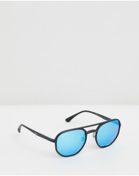 Ray-Ban - Injected Chromance Sunglasses - Unisex RB4321CH
