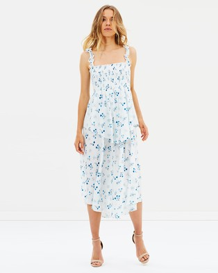 Steele – Catalina Midi Dress – Printed Dresses Catalina