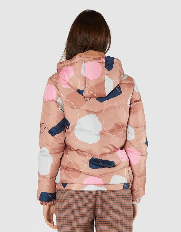 Women Rock Solid Puffer Jacket