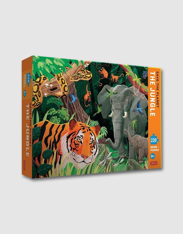 Kids Save the Planet Jungle 220 Pieces