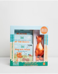 Mizzie The Kangaroo - Newborn Gift Set For The Curious Baby
