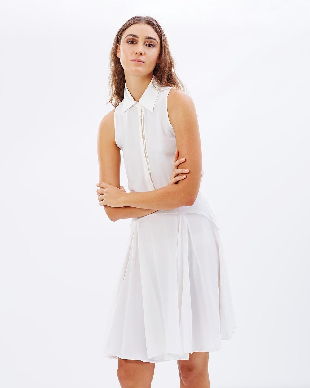 S. WALLIS Luminescence Dress Dresses White Luminescence Dress