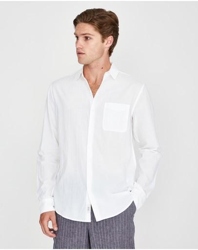Arvust Heggie Longsleeve Shirt White