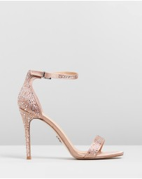 Lipsy - Diamante Barely There Sandals