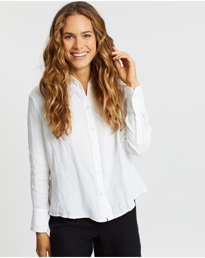 AERE - Essential Linen Relaxed Shirt