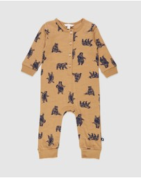 Fox & Finch - The Woods Henley Romper - Babies