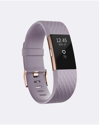 Fitbit - Fitbit Charge 2 Lavender Rose Gold