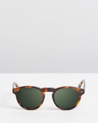 Kapten & Son Berkeley - Sunglasses (Gloss Tortoise Green)