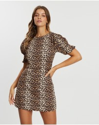 Atmos&Here - Leopard Print Dress